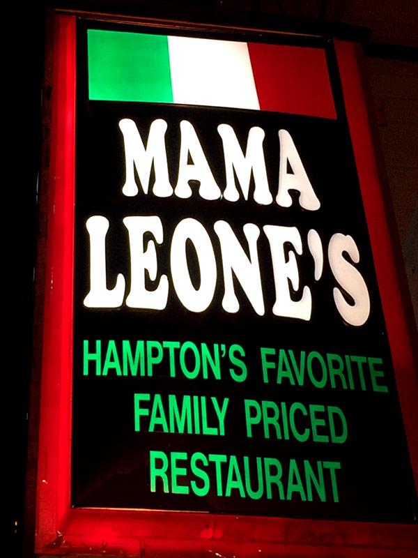 Mama Leone's Italian Restaurant Hampton Beach, NH